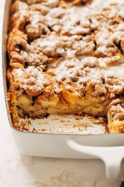 Apple Pie French Toast Bake Casserole Recipe Little