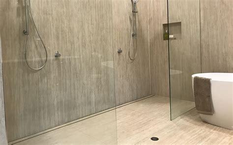 Fall In Shower Floor by Midnight Slimline Tile Insert Floor Grate Kit Trade Outlet