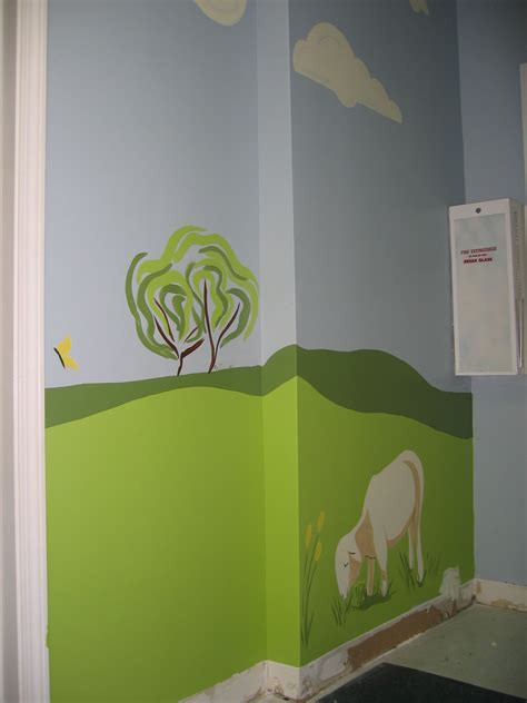 church preschool hallway mural 90 finished cox 290 | img 6230