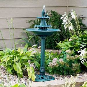 Gartenbrunnen metall einbauanleitung mit pflanzen for Garten planen mit sonnenmarkise für balkon