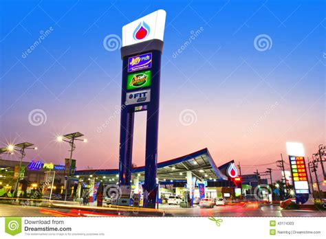 Users can easily browse information of each stations as station name, location, contact information, products and other or. Landscape editorial stock photo. Image of thailand, beautiful - 43174303