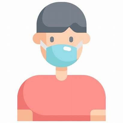 Patient Mask Icon Transmission Virus Bacteria Protection