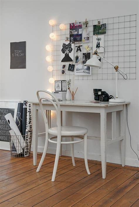 bureau de travail blanc comment décorer un bureau laqué blanc 61 photos