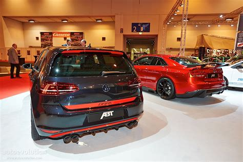 Essen 2018 Vw Golf 7 Gti Dark Edition By Abt Live Photos