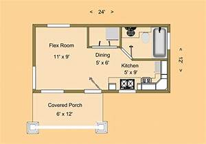 Tiny House Plans Under 100 Sq Ft