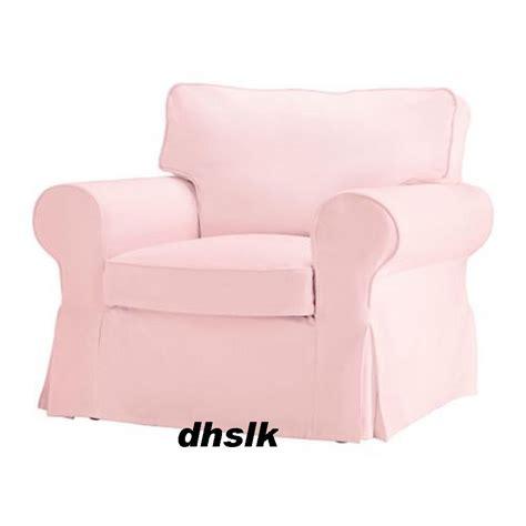 pink slipcover chair ikea ektorp armchair slipcover cover blekinge pink bezug