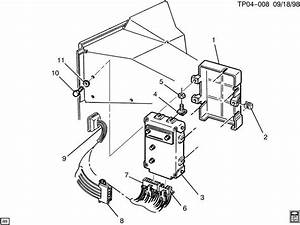 Chevrolet P30 T C M  Module  U0026 Wiring Harness