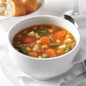 Impromptu gourmet garden herb vegetable soup for Garden vegetable soup