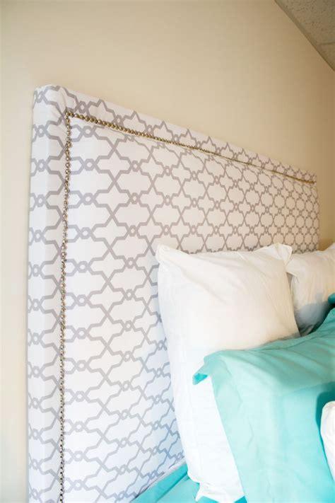 aesthetic headboards   bedroom diy fabric