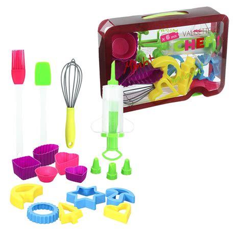 jeux de cuisine patisserie kit pâtisserie enfant valisette du chef patisserie cuisine