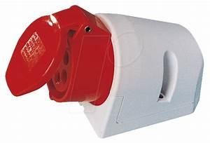 Cee Steckdose 32a : cee dose 3 32 cee steckdose 400v 32a rot aufputz bei reichelt elektronik ~ Watch28wear.com Haus und Dekorationen