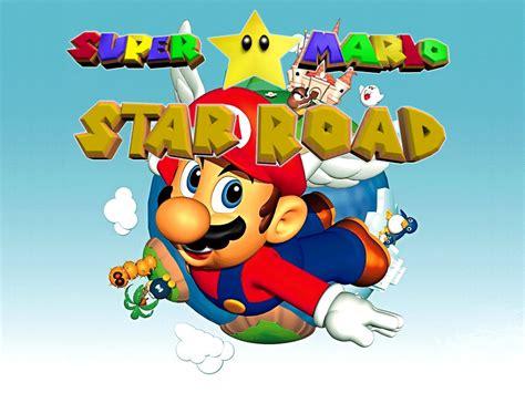 Super Mario Star Road 64 Wallpaper By Kangourou26220 On
