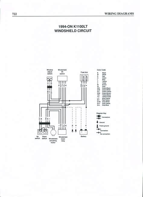 Bmw 118d Wiring Diagram by Schema Het Elektrische Ruit De K1100lt 1994