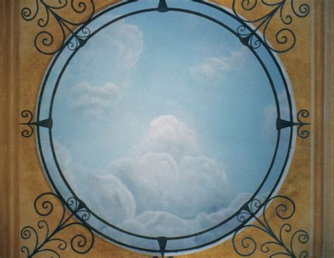 fresque murale d 233 cors de murs plafonds fa 231 ades pascale dieleman
