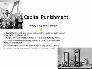 Capital punishment power point