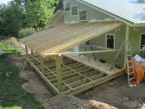 shed roof screened porch plans idea modern shed roof