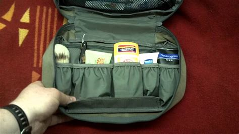 maxpedition tactical toiletry bag youtube