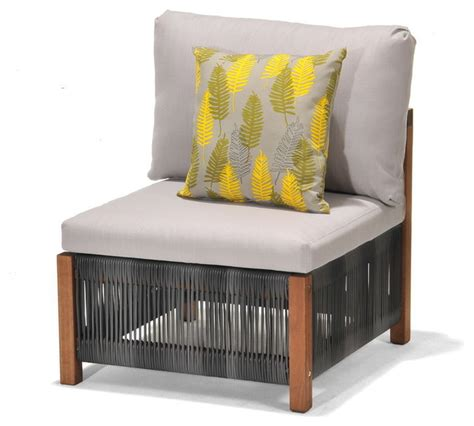 durie products patio by jamie durie gymea modular chair contemporary outdoor lounge chairs by big w