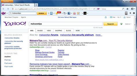 remove installx search protect  yahoo alert pop  virus