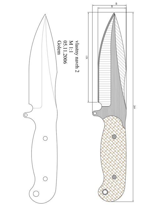 Leviatan muchas gracias por compartir. Página 1 | Cuchillos, Cuchillos artesanales y Plantillas ...