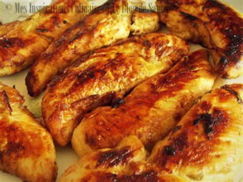 cuisiner des aiguillettes de poulet aiguillettes de poulet marine au citron vert par mes