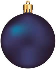 Blue Christmas Ball Ornament Clip Art