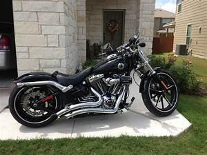 2013 Harley Breakout With Big Radius Exhaust