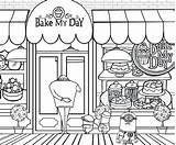 Coloring Bakery Pages Minion Minions Cake Printable Draw Clipart Fun Drawing Sweet Cupcake Activities Complex Grus Getcolorings Despicable Banana Phil sketch template