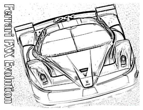 Kleurplaat Rox Auto by раскраски спортивные машины распечатать картинки с