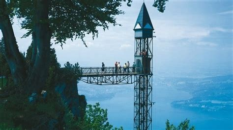 panorama elevator  mount buergenstock switzerland