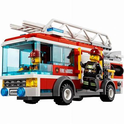 Lego Fire Truck Clipart Sets Trucks Pompier