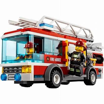 Lego Fire Truck Clipart Sets Trucks Pompier