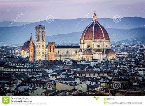 cupola di brunelleschi firenze paesaggio urbano e cattedrale e cupola di