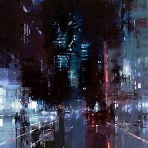 New oil based cityscapes set at dawn and dusk by jeremy for New oil based cityscapes set at dawn and dusk by jeremy mann