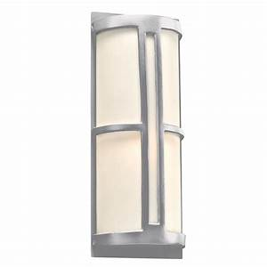 plc 31736sl rox contemporary silver outdoor wall light With outdoor wall lights za