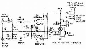 Overload Speaker Protection Circuit Diagram