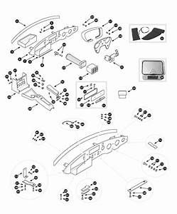 Parts For Mgb  U2022 Dashboard Rhd - August 1971 To June 1976