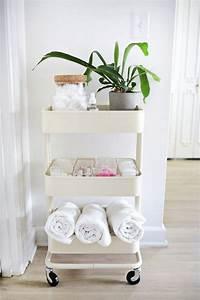 étagère échelle Ikea : tag re salle de bain ikea s lection des meilleures solutions rangement disponibles en vente ~ Teatrodelosmanantiales.com Idées de Décoration