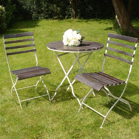 slatted garden furniture set 12 chairs 3 tables
