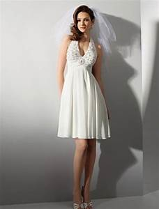 short halter wedding dresses wedwebtalks With short halter wedding dresses