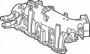 Lincoln Mkt Engine Intake Manifold  Liter  Wturbo  Police