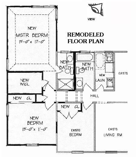 floor master bedroom addition plans new master suite brb09 5175 the house designers