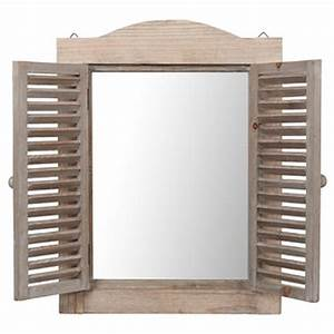 Miroir Fenetre Maison Du Monde : espejo ventana campestre natural maisons ~ Teatrodelosmanantiales.com Idées de Décoration