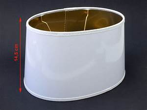 Lampenschirm Weiß Innen Gold : eleganter weiss goldener lack lampenschirm f r stehlampen tischlampen e27 oval ebay ~ Bigdaddyawards.com Haus und Dekorationen