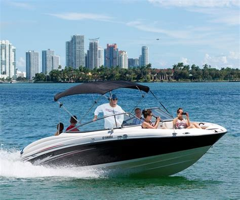 Speedboot Tour by Thriller Miami Speedboat Adventures Fl Hours Address