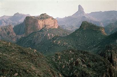 Arizona Needle Superstition Mountains Weaver Central Azgs