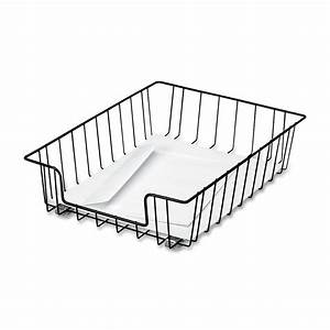 fellowes workstation letter desk tray organizer wire black With black wire letter tray