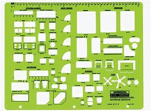 Rapidesign r 716 interior design drafting template for Interior design bedroom template