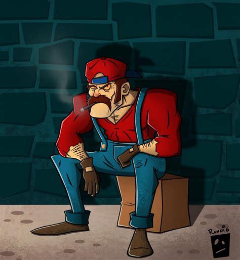 Super Mario Fan Art Ronnie The Reaper