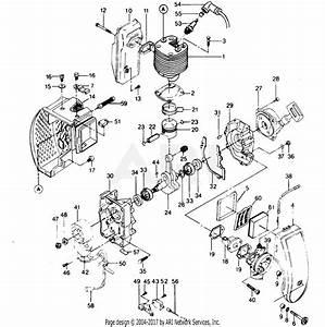 Poulan 980 Gas Blower Parts Diagram For Power Unit